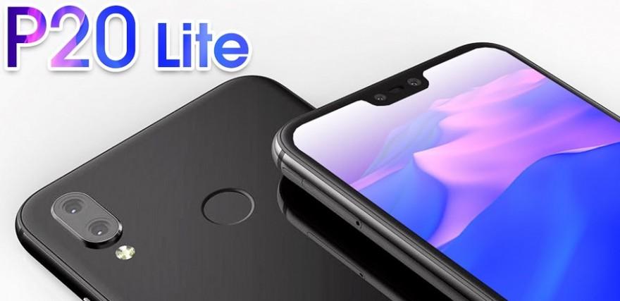 Huawei P20 lite ve stylu iPhonu X - vykouslý displej?