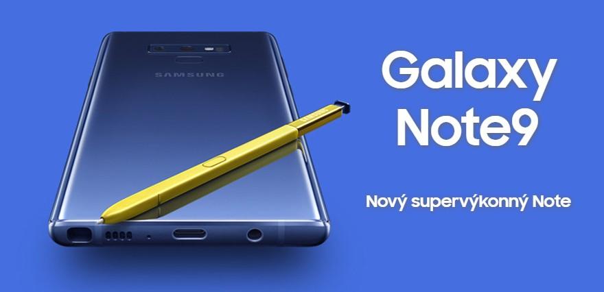 Samsung Galaxy Note 9 představen