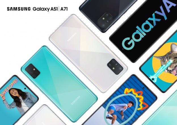 Nové modely Samsung A51 A71