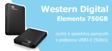 Western Digital Elements 750GB