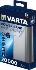 VARTA Power Bank Fast Energy 20000mAh Silver