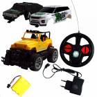 OVERLORD RC auto s akumulátory a se třemi karoseriemi v balení