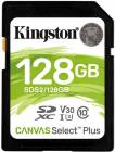 Kingston paměťová karta 128GB Canvas Select Plus SD UHS-I (čtení/zápis: 100/85MB/s)