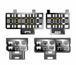 Kabeláž pro HF PARROT / OEM Nissan modely -2000 sot-063