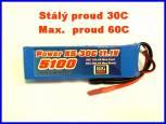 Power X5 5200 mah 3S 25C (50C)
