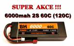 BH Power 6000 mah 2S 60C (120C) HC - AKCE !