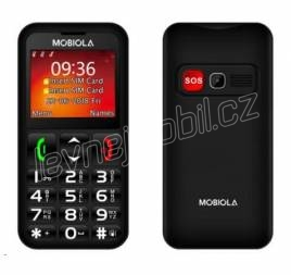 Mobiola MB700 Dual SIM Black CZ