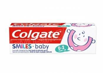 Colgate Smiles Baby 0-2 roky zubní pasta pro děti 50 ml - výprodej
