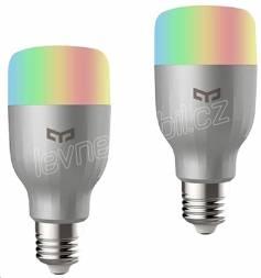 Chytrá žárovka Xiaomi Mi LED Colorful, 10W, E27, RGB 2 pack