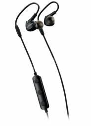 CANYON Bluetooth Sluchátka sportovní s mikrofonem, 0.3m kabel, černé