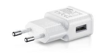 EP-TA200EWE Samsung USB Cestovní nabíječka White (Bulk OOB)