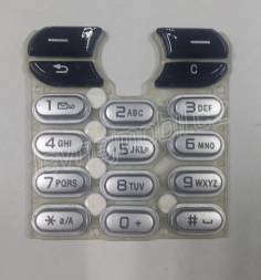 Sony Ericsson T630/T610 white-black klávesnice