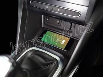 Qi indukční INBAY nabíječka telefonů Renault Megane 2016-, 10W rw-RN01