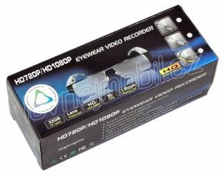 Kamera v brýlích 1080p EC5 (1411-044) - full HD kamera