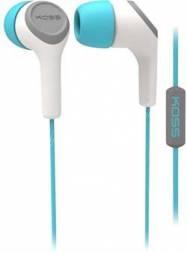 KOSS KEB15i modro-šedivá sluchátka vysoké kvality