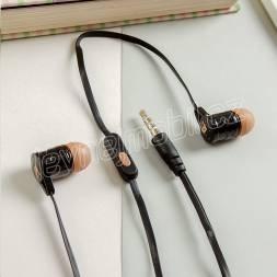 CASNI - Sluchátka CS-180 s mikrofonem Žlutá