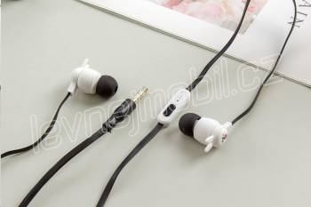 CASNI - sluchátka CS-178 s mikrofonem černá