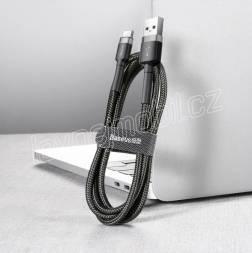 Baseus CATKLF-BG1 Cafule Kabel USB-C 3A 1m Grey/Black