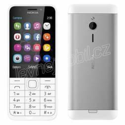 Nokia 230 Dual SIM White Silver CZ