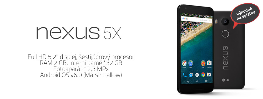 LG Nexus 5X H791 - levnejmobil.cy